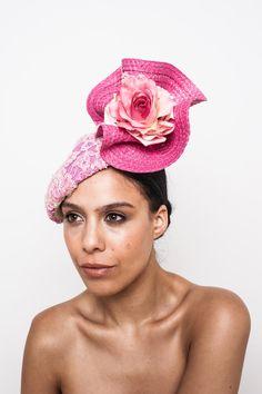 1a3d9996cfd Marion s Summer Garden- pink. Jaya Lee Designs · Fascinator Hats