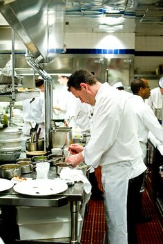 On the Line at Le Bernardin | Zen Can Cook