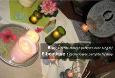 Décos et bougies Esprit Zen PartyLite - Photo Cécile Cloarec