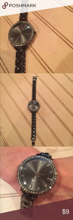 Just Jewelry Watch (NWOT) New without tags, never worn and battery still works. Has a stainless steel back and is about 8in long Just Jewelry Accessories Watches