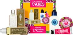 L'Occitane Cares Collection Gift Set Skin Care, Unique, Gifts, Collection, Shower, Presents, Skincare Routine, Skins Uk, Favors