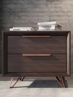 Grand Nightstand from Up to 75% Off: Midcentury Modern-Inspired Style on Gilt