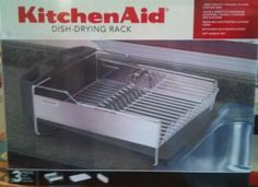 KitchenAid Dish Drying Rack Stainless Steel by KitchenAid. $54.99