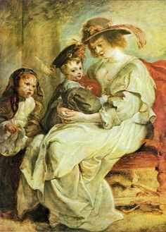 The Athenaeum - Helene Fourment with her Children (Peter Paul Rubens - )