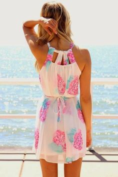 Cute Little Beach Summer Dress