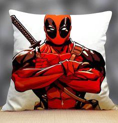 """Deadpool 2 Pillow Case 18"""" x 18"""""""