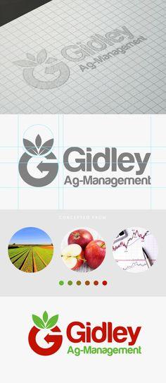 Gidley Agriculture Logo on Behance Visual Identity, Brand Identity, Writer Logo, Cow Logo, Ui Design, Graphic Design, Agriculture Logo, Logo Branding, Logos