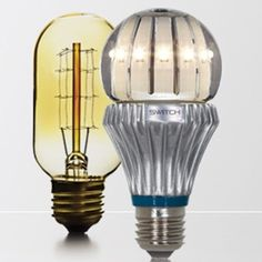 on now in las vegas a number of new long lasting led light bulbs. Black Bedroom Furniture Sets. Home Design Ideas