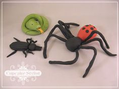 fondant insects