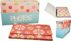 Silhouette Online Store - View Design #44650: 3d photo storage box and sleeves