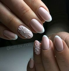 - Best ideas for decoration and makeup - 3d Nails, Love Nails, Pink Nails, How To Do Nails, Elegant Nail Designs, Nail Art Designs, Gorgeous Nails, Pretty Nails, Nagel Stamping