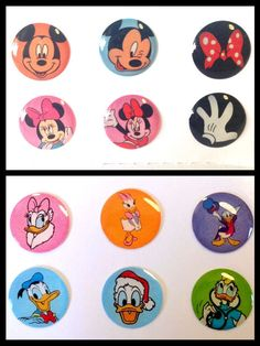 12x Cartoon Characters Bubble Home Button Stickers iPhone/iPad/iPod iPhone6s 5 4