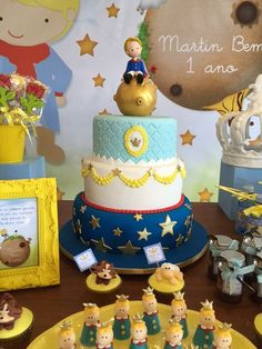 The little prince cake tema de Festa: O Pequeno Príncipe - Crescer   Festa de aniversário