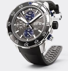 The Aquatimer Chronograph Jacques Cousteau. Released to celebrate what would have been his 100th birthday!