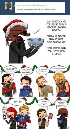 Derpvengers Christmas :3