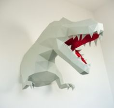 Papercraft wall trophies, Design Paper Walltrophy