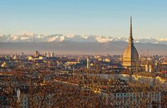 """Le Corbusier described Turin as """"the city with the most beautiful natural location in the world""""."""