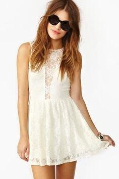 Lulu Ivory lace #Dress #fashion