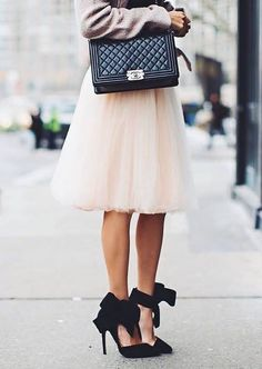 All in Good Cheer Tulle Skirt