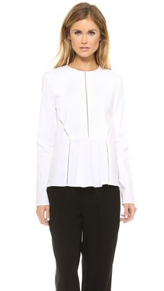 Thakoon Addition Open Back Top
