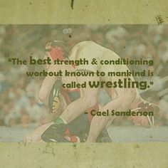 Cael Sanderson 4x undefeated NCAA Wrestling Champion speaks the truth.