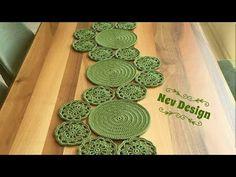 людмила's media content and analytics Granny Square Crochet Pattern, Crochet Round, Crochet Motif, Crochet Designs, Crochet Doilies, Crochet Lace, Crochet Stitches, Free Crochet, Crochet Table Runner