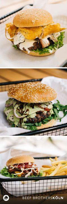 Diese köstlichen Schönheiten gibt's bei den Beef Brothers im Belgischen Viertel in Köln. Da kann wohl niemand widerstehen!