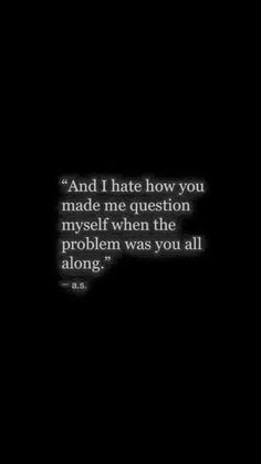 Omg .. This hits some feelings I can identify with this on a spiritual level ivhave Lay's taken the blame and made excuses for those who have hurt me each time when it took me a long time to realize It wasn't me
