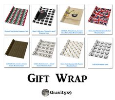 Check out the variety of gift wrapping paper. Great for wrapping presents, also for decorating, crafting projects, scrapbooking and DIY! Available in several length options and paper types. Click through to see the variety of designs available through Zazzle!