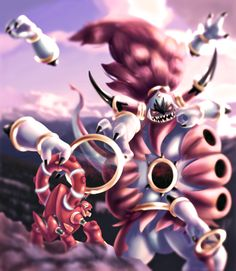 Hoopa unbound vs Volcanion
