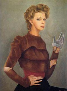 Self Portrait with Scorpion - Leonor Fini