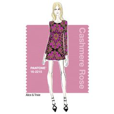 Alice & Trixie: -- Must-have Item For Fall 2015 Our '60s style, long sleeved A-line shift dress. It sports an amazing retro medallion print that is mainly Raspberry. We love the juxtaposition of Olive Drab and Cumin in the print. It's just the right mix of mod and boho, which is our main theme for Fall 2015… and we especially love it worn with our fur vests, which are new for us this season.