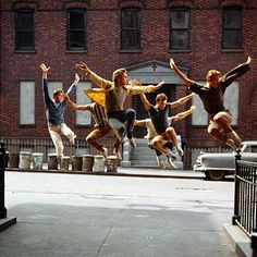 West Side Story, relevé #dance