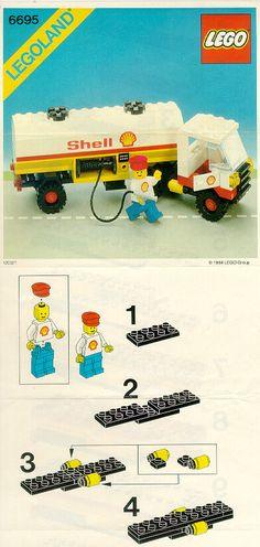 City - Tanker Truck [Lego 6695]
