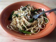 Lemon/Asparagus Spaghetti