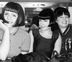 Girls in Fred Perry Shirt Tv Girls, Girls Slip, I Love Girls, 60s Mod Fashion, Fred Perry Shirt, Skinhead Girl, Teddy Girl, Mod Look, 70s Hair