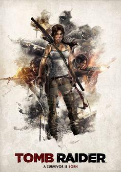Tomb Raider I. by 187designz.deviantart.com on @deviantART This was a great game!