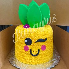 Pineapple Cake made by Irmayris (pineapple art sweets)