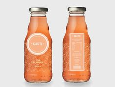 CACTI Package Design | Nathalie Kapagiannidi... The color and shape really caught my eye!