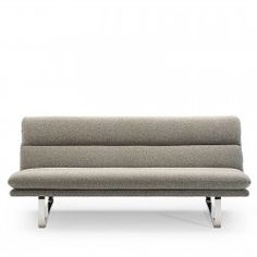 A sofa by Kho Liang Ie. Frame of pressed beech upholstered with moulded foam on a metal base. Cushions, Sofa, Modern, Furniture, Throw Pillows, Toss Pillows, Settee, Trendy Tree, Couch