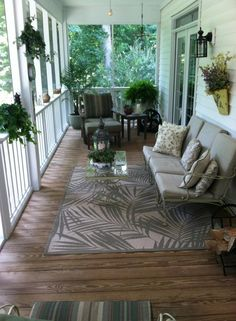 My southern porch!