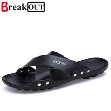 16ca5617c2cb39 Break Out New Arrival Men Sandals Summer Style Men Shoes Casual Men  Slippers Beach Shoes 5 colors hot sale-in Men s Sandals from Shoes on  Aliexpress.com ...