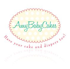 Logo design for Amy Baby Cakes by  www.TheLogoBoutique.com