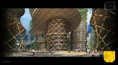 Bamboo Skyscraper 3