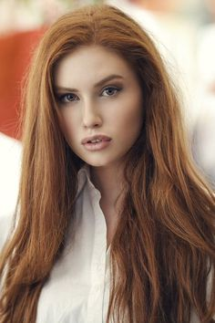Rote Haare / Kupfer