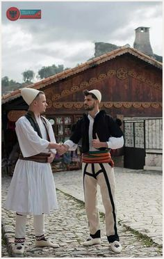 Albanian Culture, Folk Costume, Old Pictures, Panama Hat, Hipster, Folk Clothing, People, Diversity, Clothes
