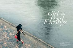 Parisian Belle Fashion : OK! China 'Girl with Pearl Earrings'