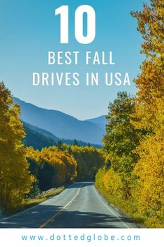 Looking for spectacular, stunning, and simply the best fall foliage trips? My favorite fall activity is driving through the countryside in search of best fall foliage in the USA. There are many fall foliage drives in the country, find out the best of them