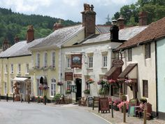 My beloved Dunster, Somerset, UK