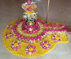 Om Namah Shivaya Shiva Linga, Om Namah Shivaya, Floating Flowers, Lord Shiva, Diwali, Flower Decorations, Holiday Decor, Devotional Quotes, God